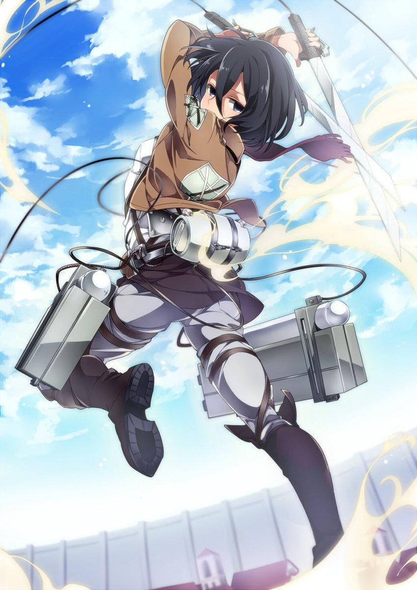進撃の巨人 ミカサ画像集 Mikasa Pic Twitter