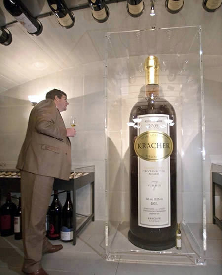 самые большие бутылки с алкоголем фото листовая