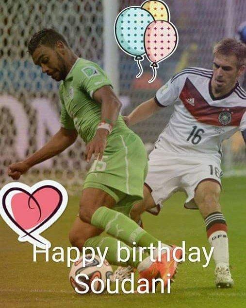 Happy birthday @hillalsoudani #dzaisport #DZ #Teamfennecs #teamdzair #TeamAlgerie #ElKhadra #dzairfoot #dzairnews #sport #sportnews<br>http://pic.twitter.com/d36YYo7ttU