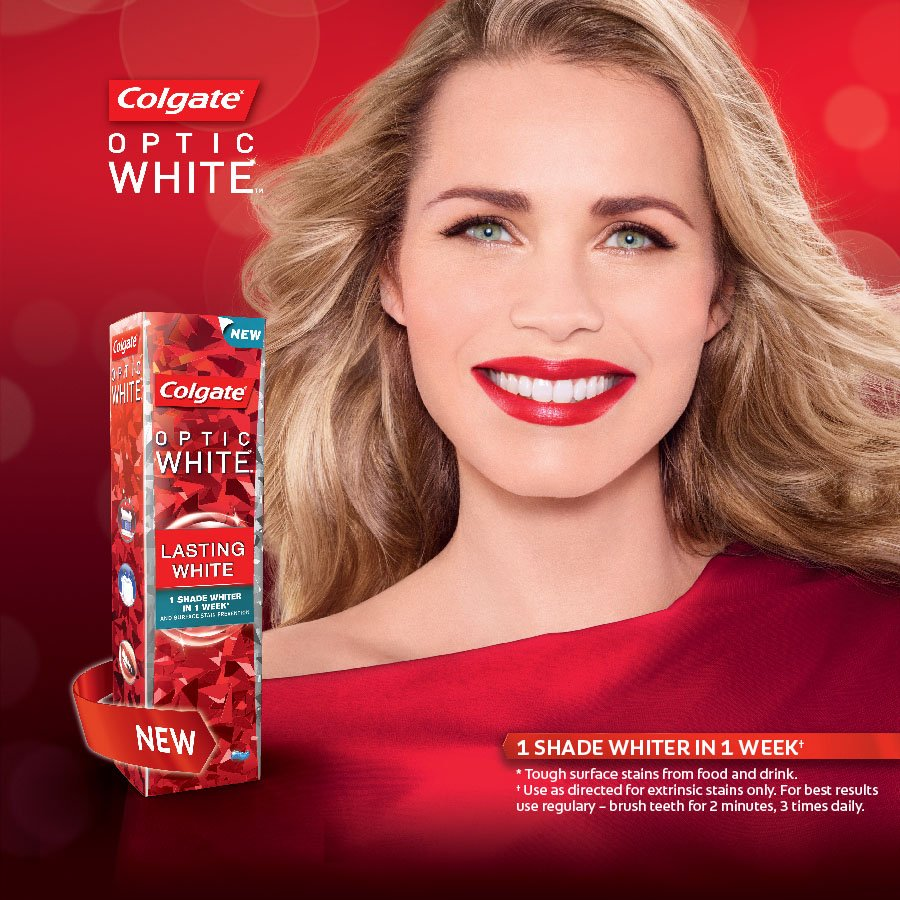Clicks On Twitter The Colgate Optic White Range Is Formulated To