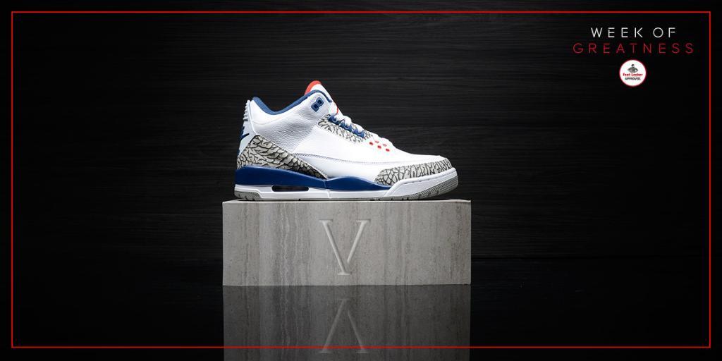 jordan 3 true blue foot locker