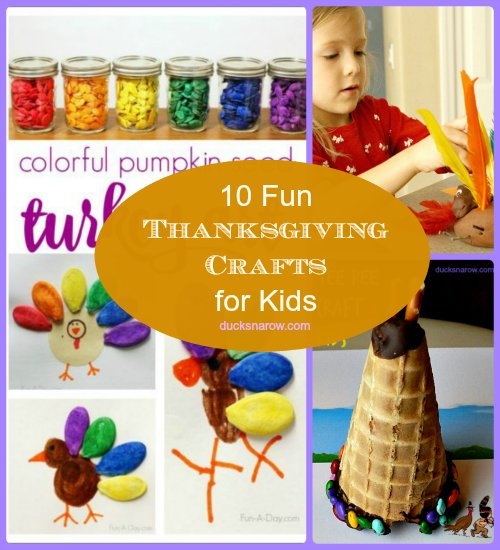 10 Fun Thanksgiving Crafts & Activities For Kids