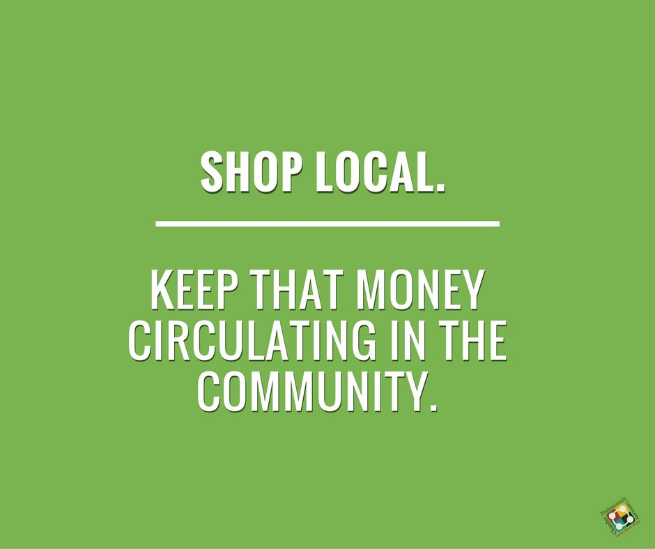 Shop Local. Keep that money circulating in the community.  #Chamber #ShopLocal https://t.co/VbbCFFrra0