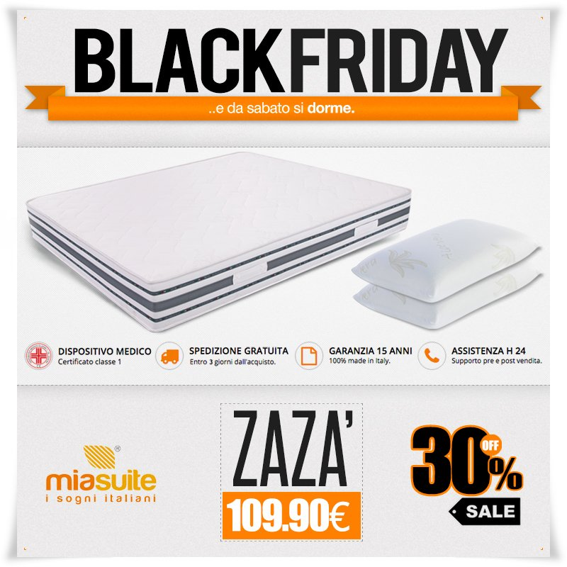 Materassi Co.Miasuite On Twitter Blackfriday Miasuite Edasabatosidorme