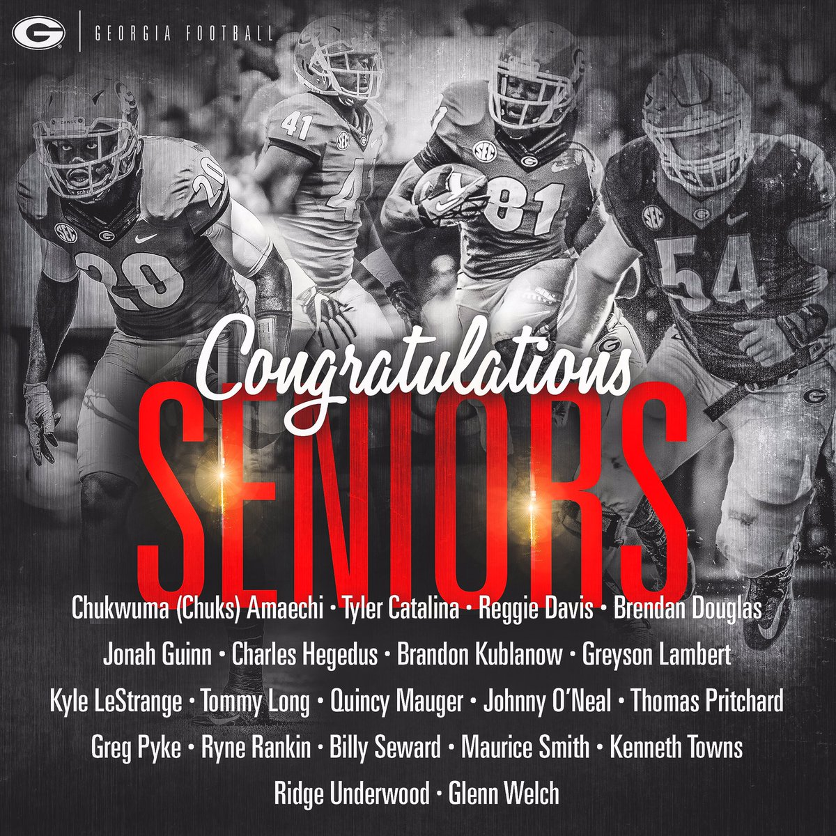 football on our seniors will be honored before football on our seniors will be honored before tomorrow s noon kickoff come early and help us wrecktech
