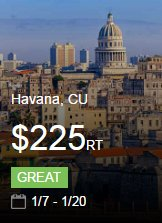 Explore more of Havana now https://t.co/JXYVIGnSxk #cheapflights https://t.co/1WX1H8XOtj