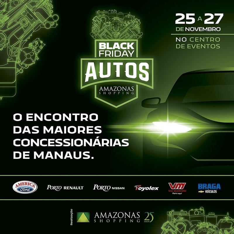 As maiores concessionárias de Manaus estão na Black Friday de Autos Amazonas Shopping. Aproveite essa oportunidade e troque de carro! https://t.co/xBQIdxQThP