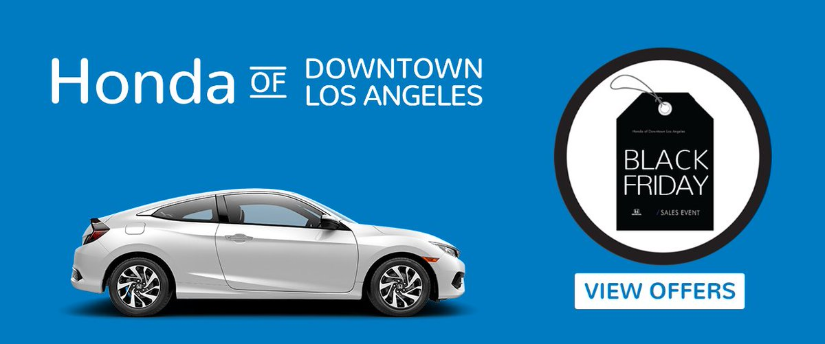Honda of downtown la hondaofla twitter for Honda downtown los angeles