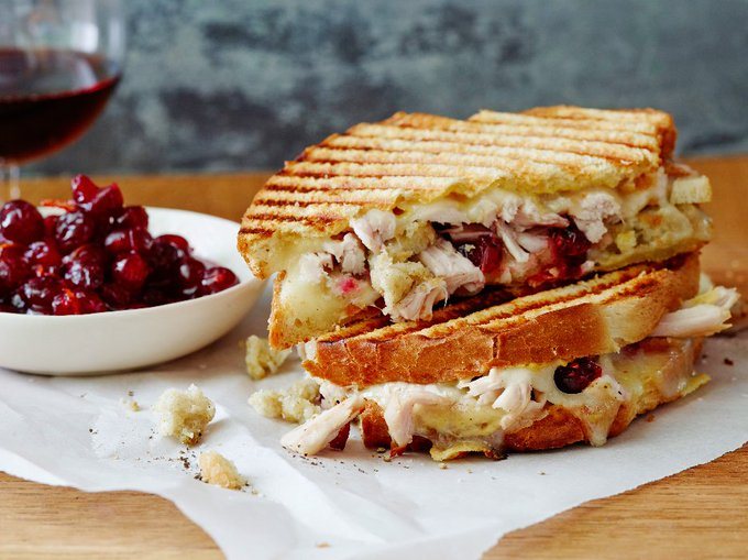 Leftover Thanksgiving Panini : Ree Drummond : Food Network