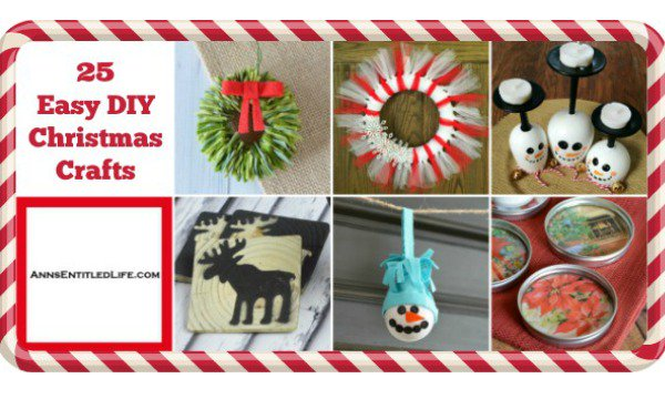 25 Easy DIY Christmas Crafts