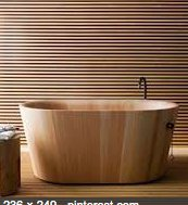 Wooden tubs are making a real entry into the bathroom scene. Isn't this elegant? https://t.co/ndcUlo1Y4d