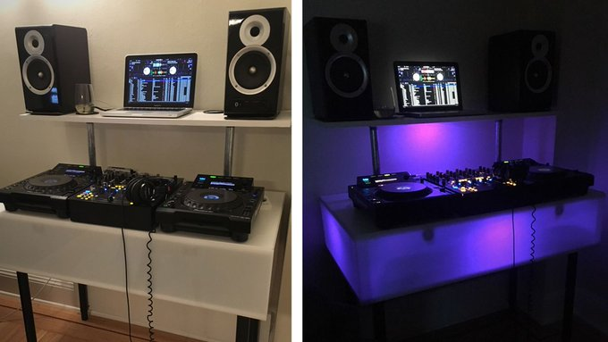 DIY: How To Build A Light Up DJ Booth