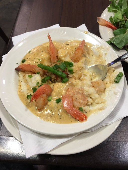 Last Day in New Orleans -- Thank GOD I was able to get some Shrimp & Grits! https://t.co/PVUYBaQ8xJ