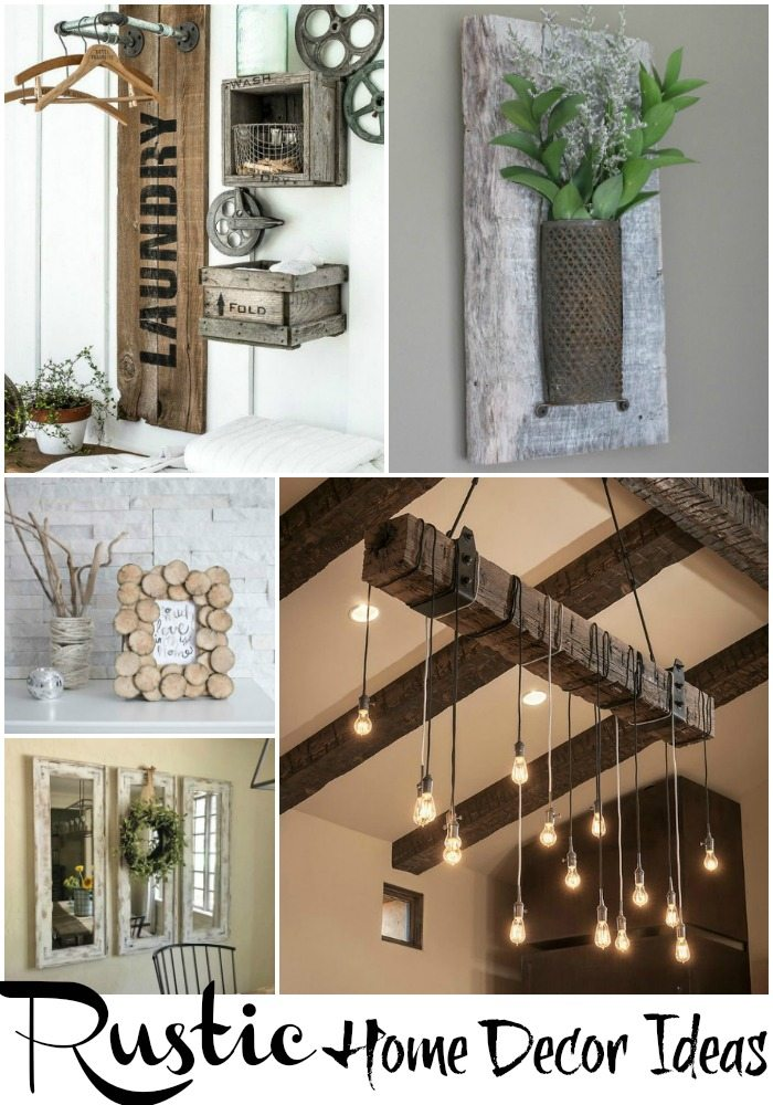 Some Great Rustic Home Decor Ideas