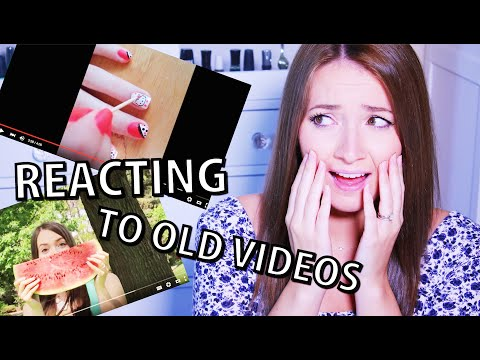 REACTING TO MY OLD VIDEOS! #CutePolish #Beauty #Nails