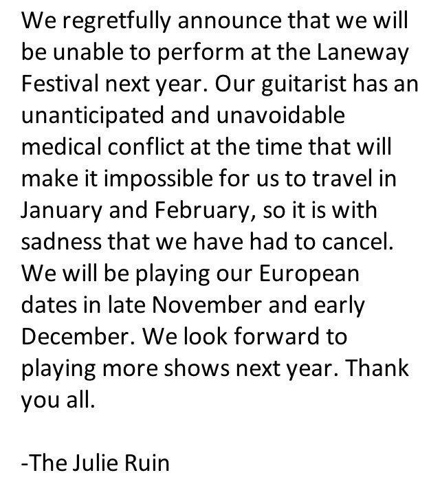 The Julie Ruin on Twitter: \