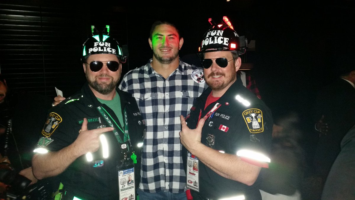 Twitter post: RT @GCFunPolice: More shanenigans @TheKeg with Big @johnchick97…Read more. Opens full post in an overlay