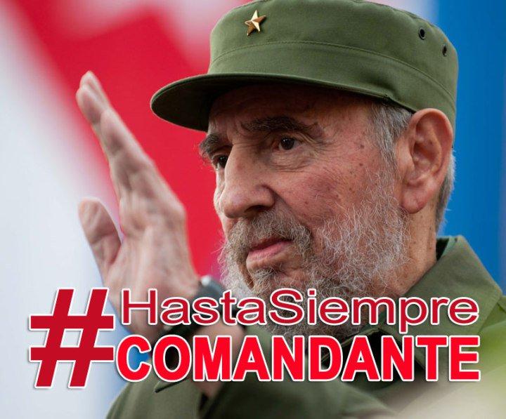 Fidel Castro, el Comandante en Jefe
