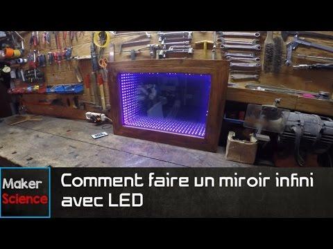 Tutoriel : #DIY Comment faire un miroir infini avec LED