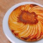 やってみたい!林檎、砂糖、ホットケーキミックスだけの簡単ケーキが美味しそう!!