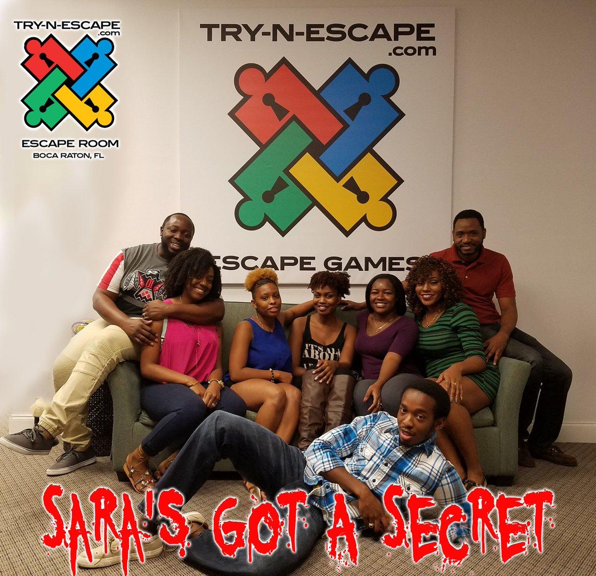 Escape Room Boca Raton >> Try N Escape Try N Escape Twitter