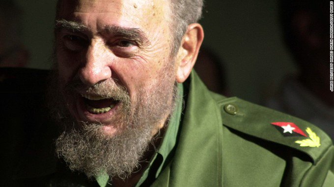 Former Cuban leader Fidel Castro has died, state media report. He was 90. https://t.co/HAhU3MmiMf