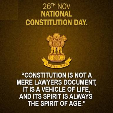 National Constitution Day - 26th November