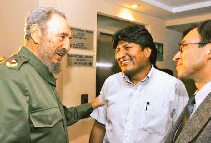 Nuestra admiración y respeto por Fidel, el líder que nos enseñó a luchar por la soberanía del Estado y la dignidad de los pueblos del mundo. https://t.co/sPEZYKURI6