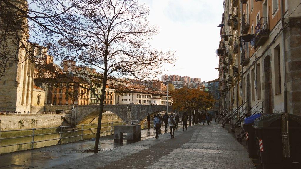 Muelle de marzana ahora paseo. Infraetructura clave historicamente de la #ciudad #urbanbat16 @urbanbat https://t.co/vq6lHqEUEe