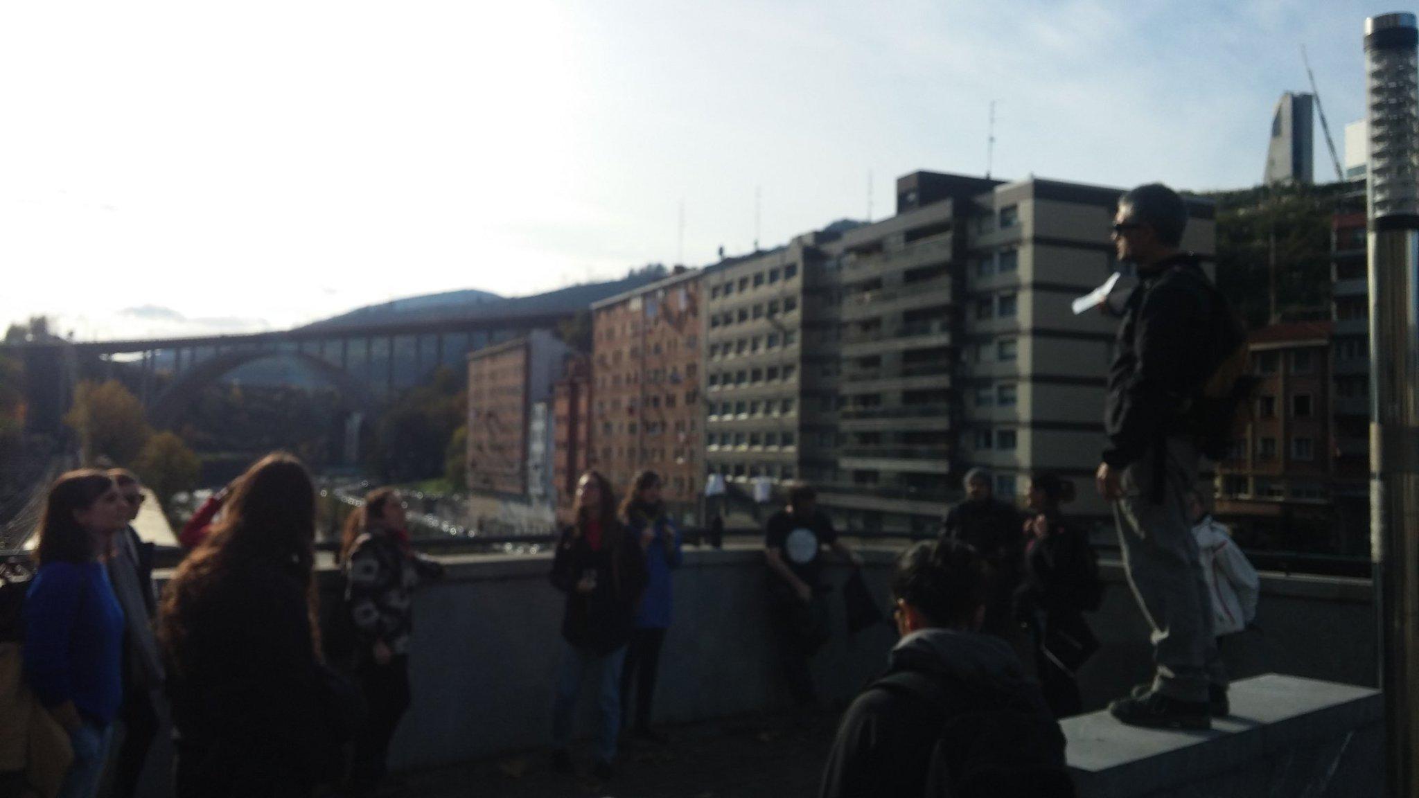 Paseo de los caños #urbanbat16 Bilbao https://t.co/L0ya4LC3jU