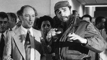 """""""My father was very proud to call him a friend,"""" Justin Trudeau says of Fidel Castro https://t.co/j8fyb8n8Ge https://t.co/cmdgaRHBSx"""
