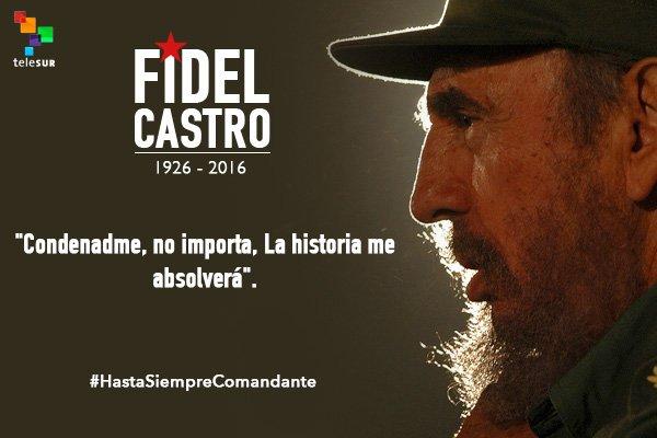 Telesur Tv On Twitter Ideas De Fidel Castro En 5 Frases