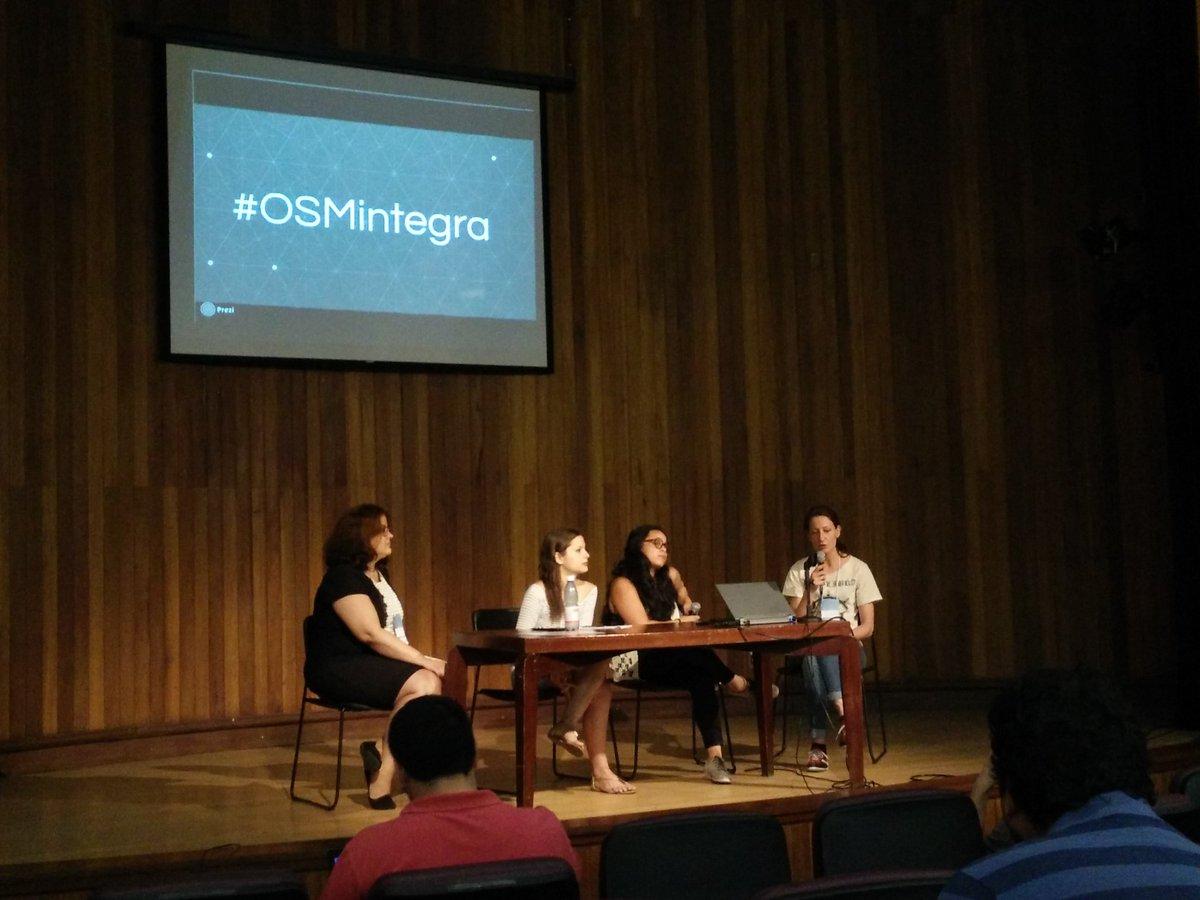 #OSMintegra panel en #SOTMLatam2016