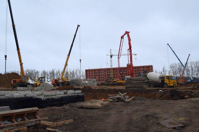 Николай Терехов осмотрел стройплощадки в городе