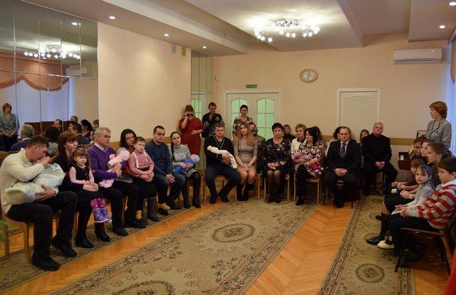 """Праздник """"Имянаречение"""" в Узловском отделе ЗАГС"""
