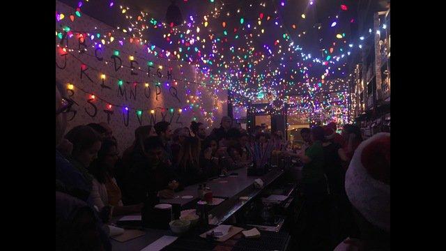 Dc Christmas Pop Up Bar.Christmas Step Winter Wonderland Christmas Pop Bar Wusa9