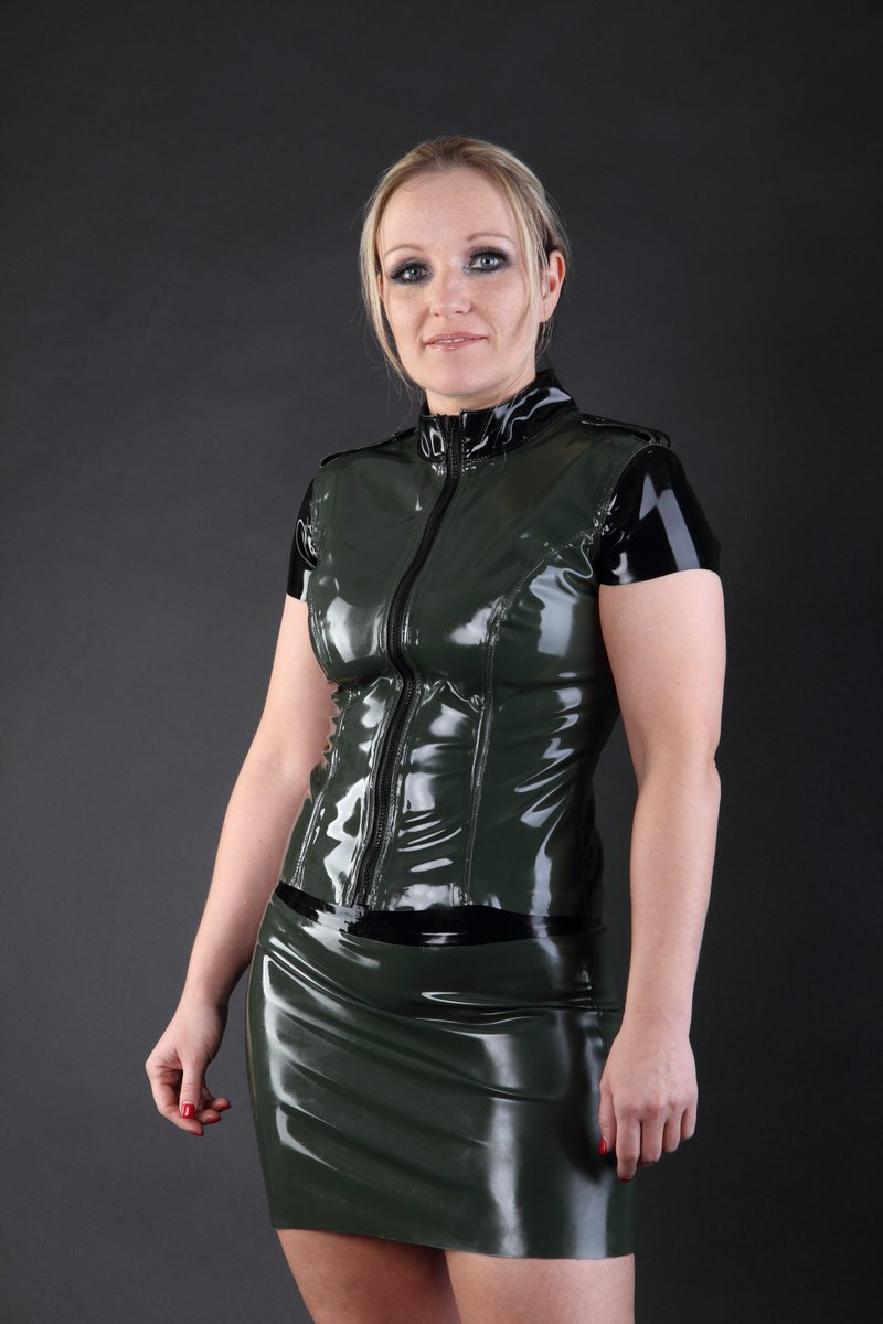 Latex fashion design