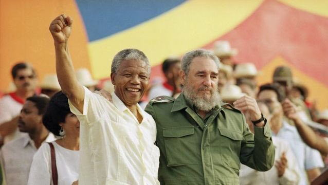 #Castro helped to free #NelsonMandela in South Africa. Upon his release he went to #Cuba to say, 'Thank you'. https://t.co/oRvmDxWPAy