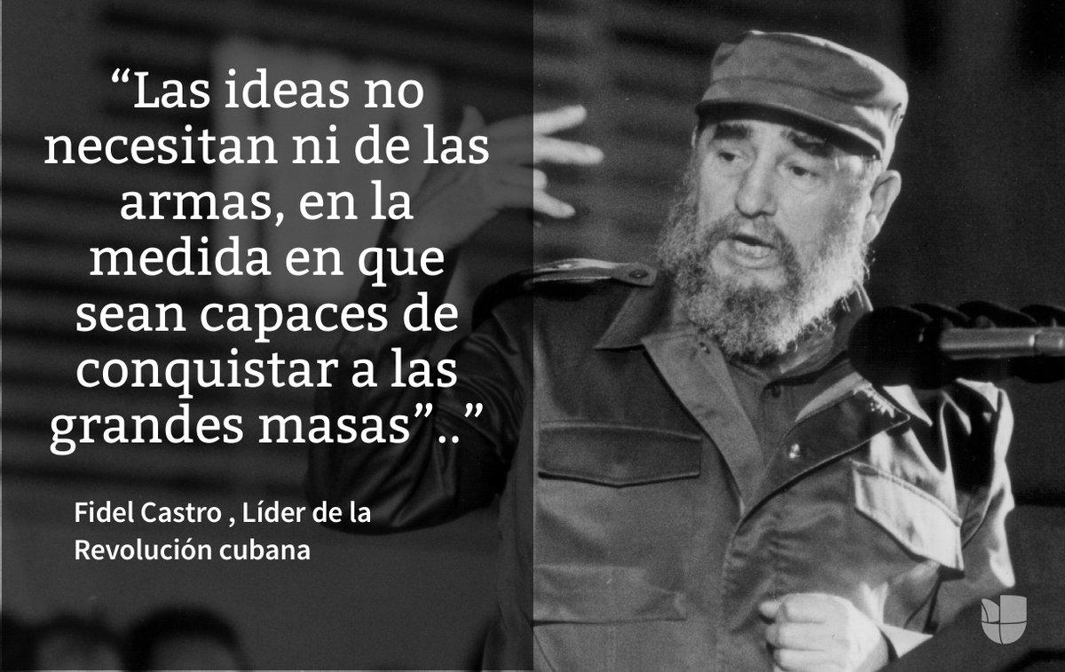 Fidel Castro Frases Célebres Fidel Castro Muerte