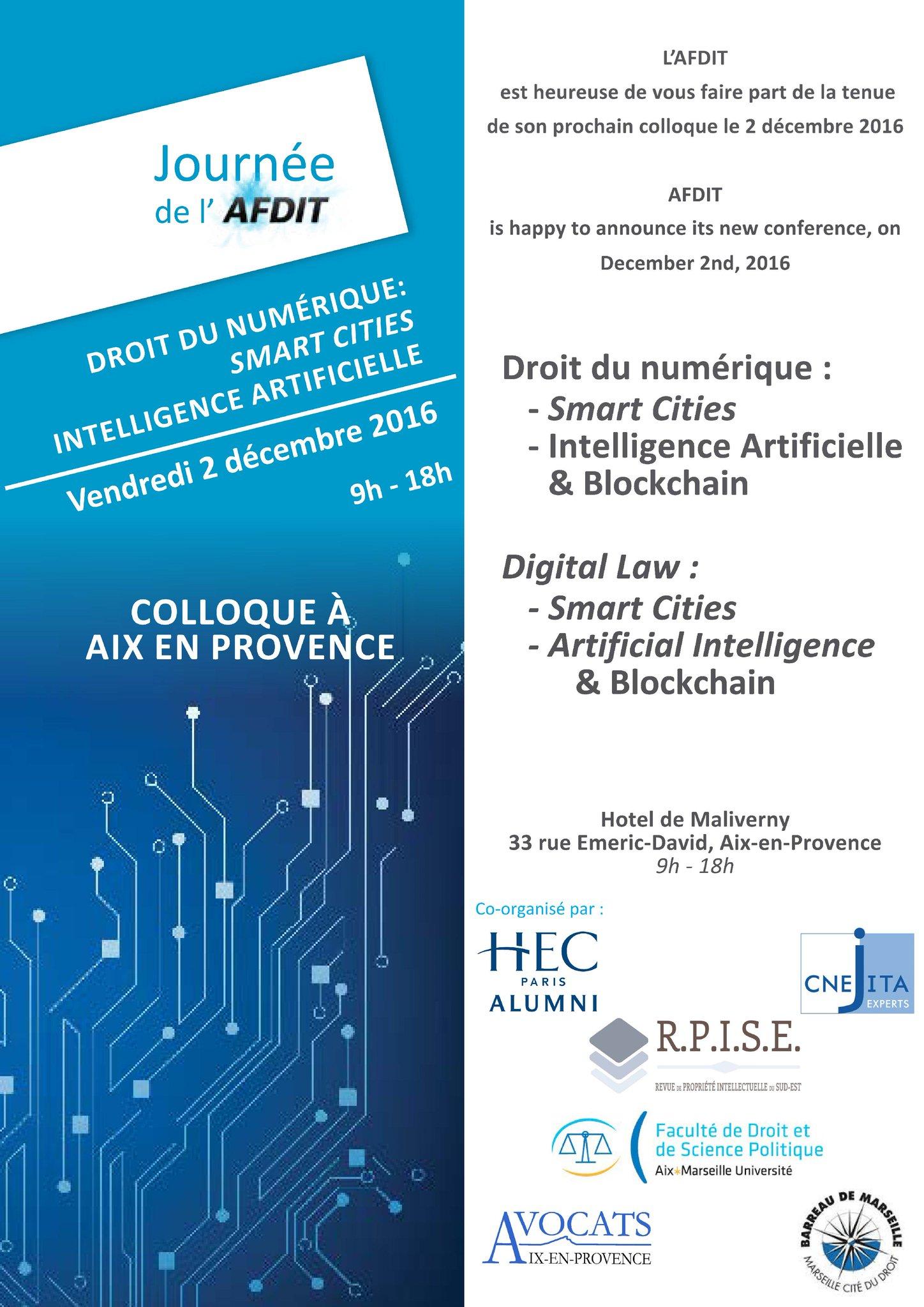 Colloque le à Aix, 02/12 Programme définitif : https://t.co/gWKUi1LfCl Inscription : https://t.co/SCQ23T0LPE https://t.co/qg1iQW4qly