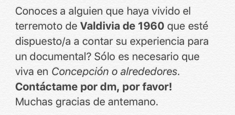 Atención #Concepción!!! Necesito de su ayuda. RT por favor