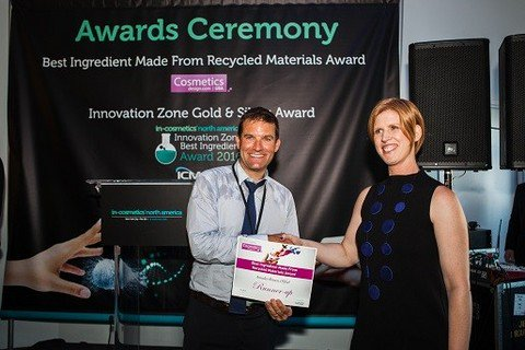 """Winners announced for the 2016 Cosmetics Design """"Best Ingredient Made from Recycled Materials Award"""""""