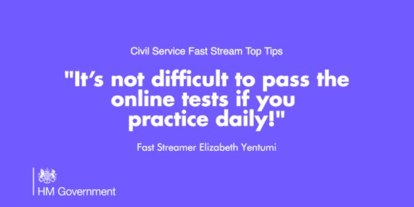 Uk Civil Service On Twitter Want To Pass That Faststream Test Our Tip Makes It Clear Https T Co Mc65bj6zmo Commsstream