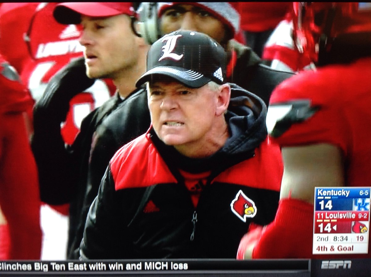 Bobby Petrino abruptly leaves postgame press conference ...