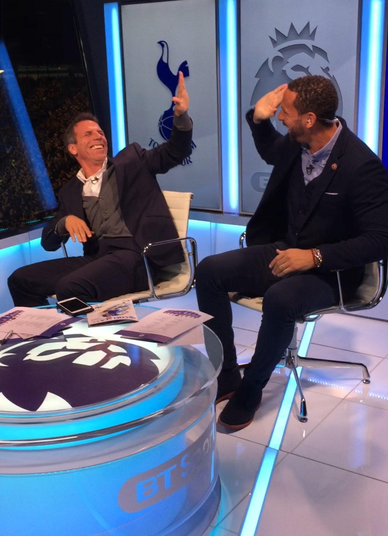 Whaaaaaat a goal... half time coverage coming soon on @btsportfootball 1-1 @zola_official is a happy man! #CHETOT https://t.co/07cPxY5QuJ