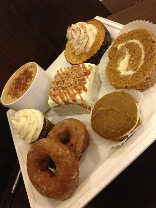 Our Everything pumpkin menu continues for a limited time... #shopsmall #SmallBusinessSaturday