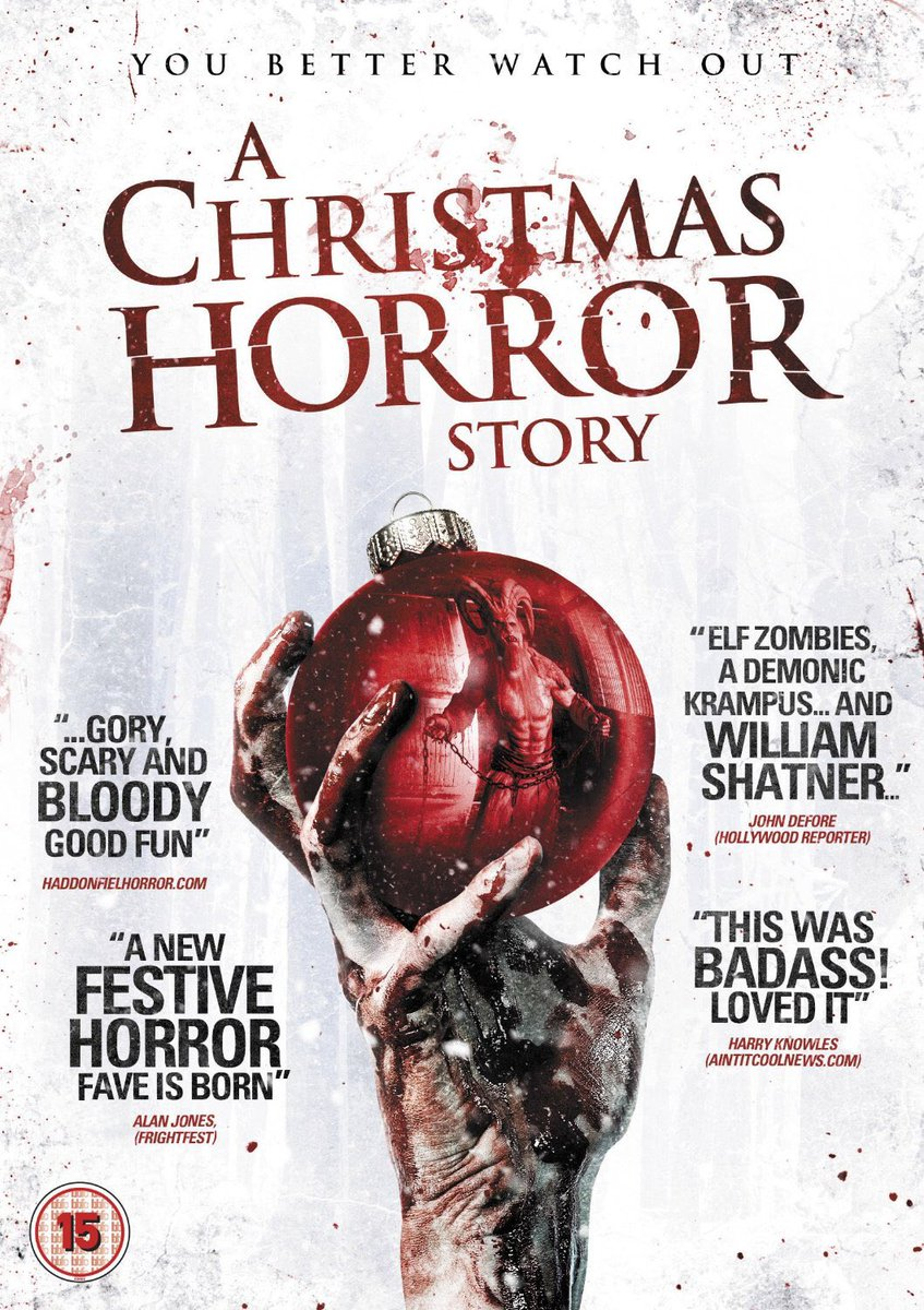 rob archer on twitter watch me as krampus in the best xmas horror film ever made achristmashorrorstory with williamshatner georgebuza - Best Christmas Horror Movies