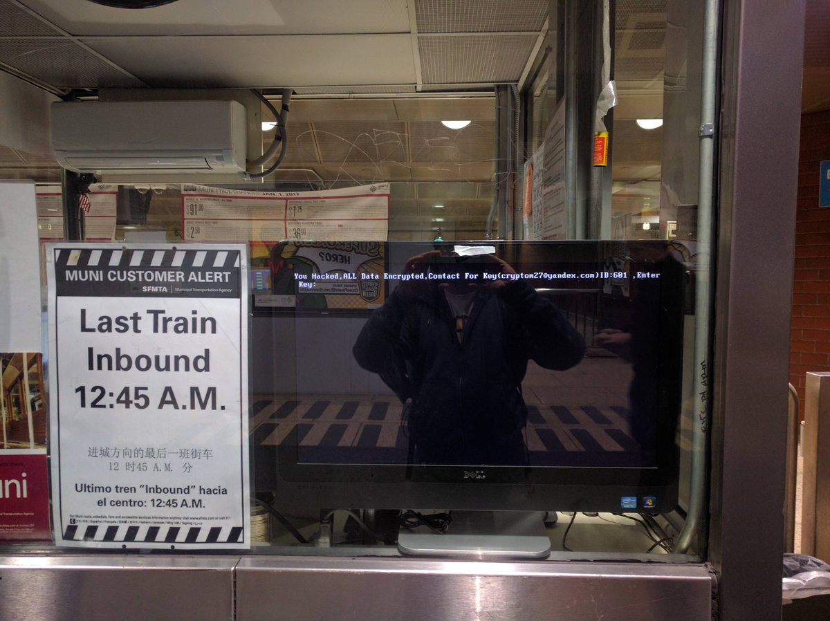 San Francisco Transport System Hacked For 100 Bitcoin