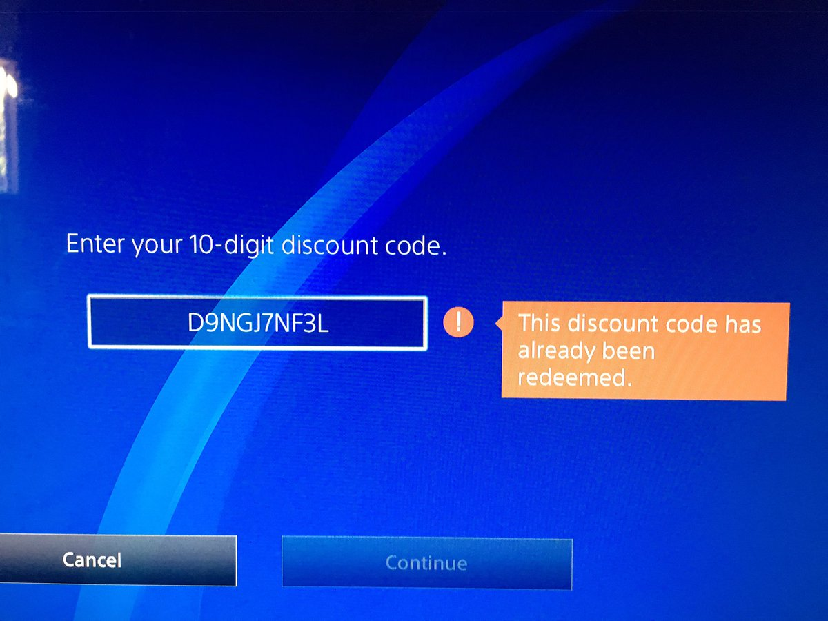 Ps4 discount code not working | Get your 10% PSN discount