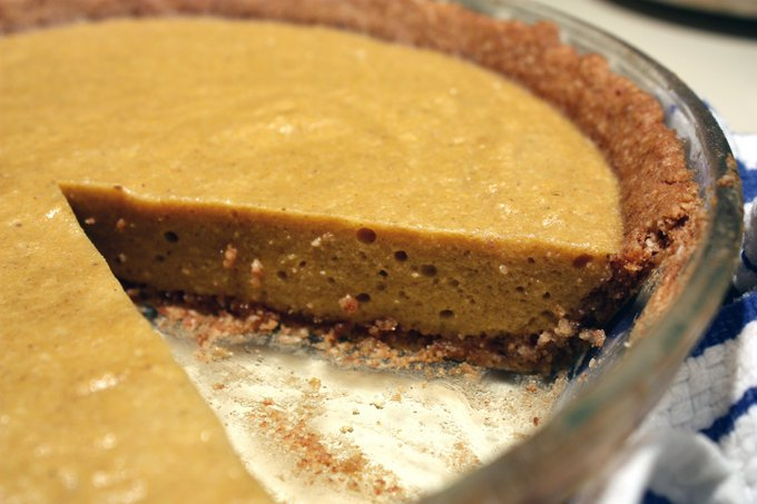 How to Make a Gluten Free, Sugar Free Pumpkin Pie